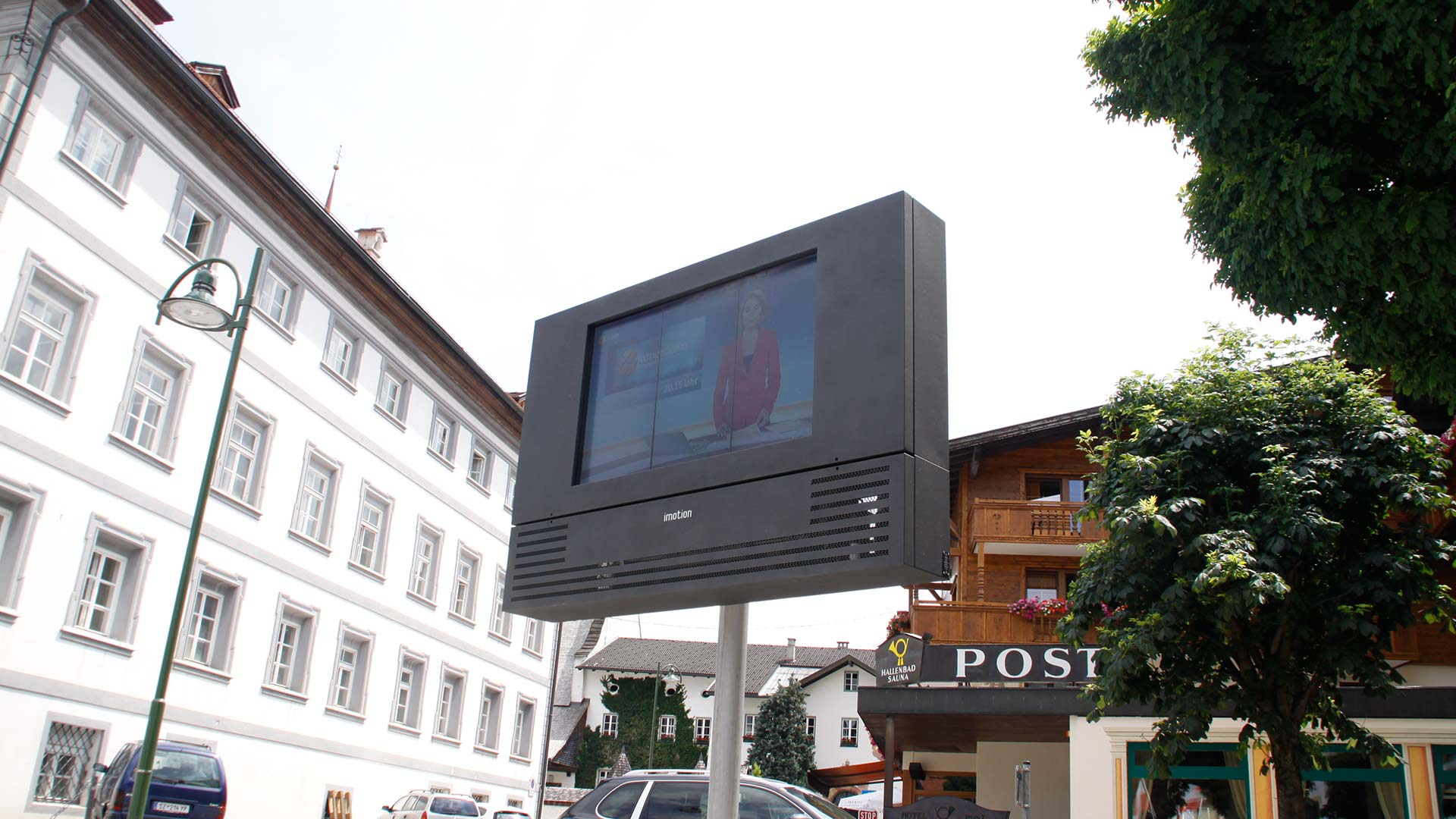 Fügen Full Outdoor Digital-Signage