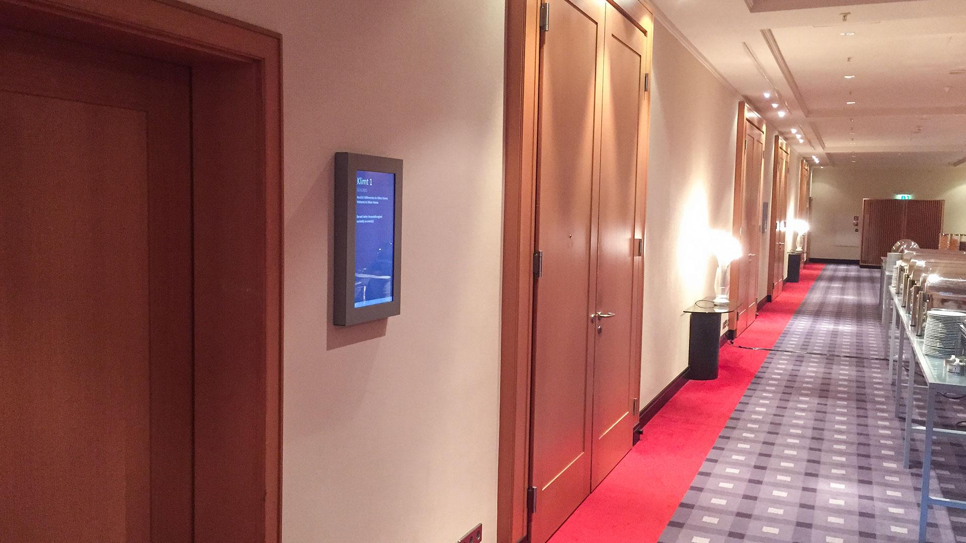 Hilton Hotels Wien Wegeleitsystem Doorsign