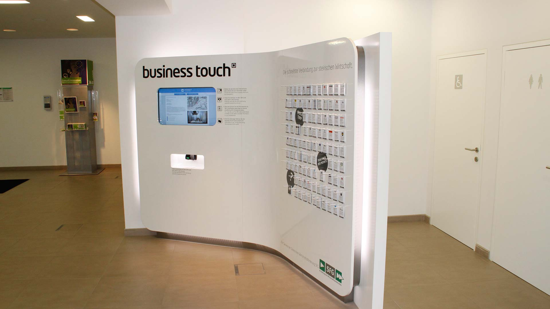SFG Business Touch Digital Signage