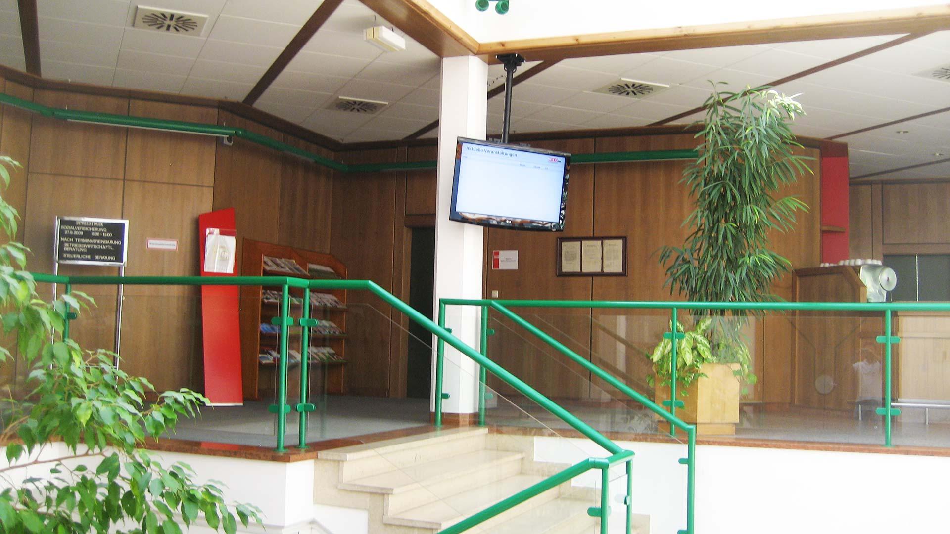 WKO Regionalstellen Digital Signage